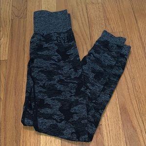 Gymshark camo leggings xsmall